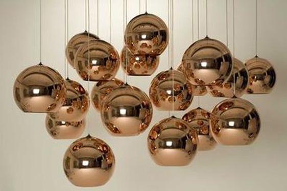 Design - Copper Shade de Tom Dixon