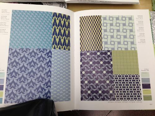 planche ambiances geometriques