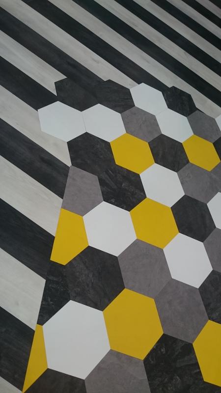 carreaux sol octogonaux