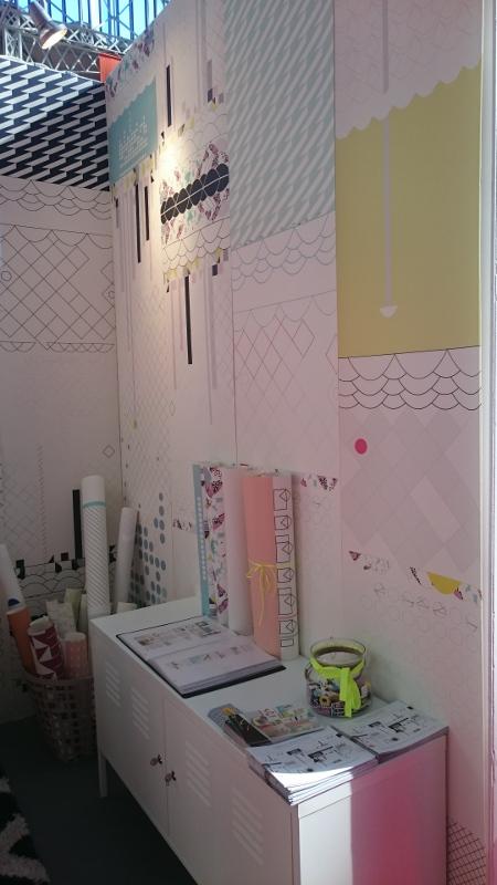 papiers peints geometriques