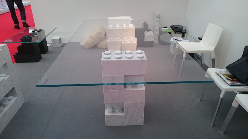 table en verre lego app one