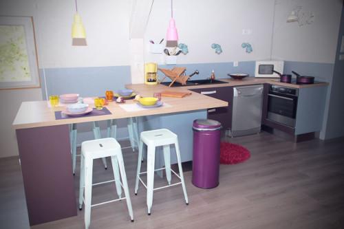 cuisine bleue violette yssingeaux