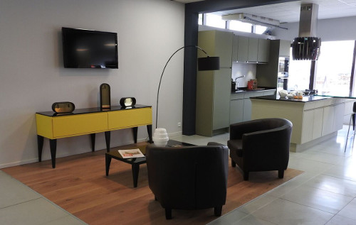 meuble salon jaune alice martinique