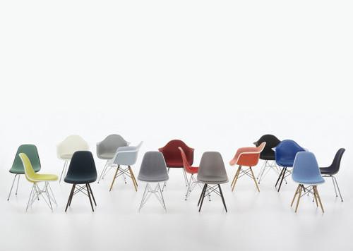 chaises DSW couleurs