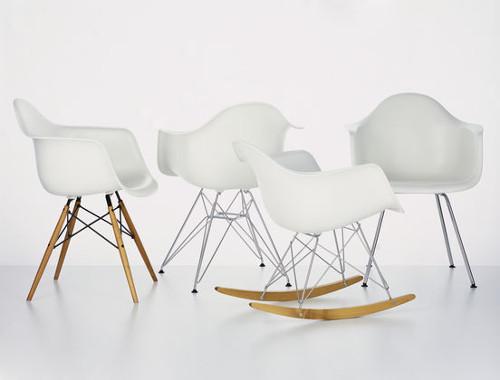 chaises DSW pîetements