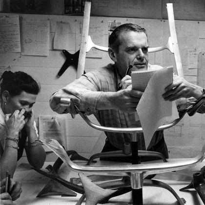 charles ray eames chaises plastiques