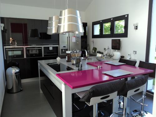 cuisine-design-noire-rose-yerres