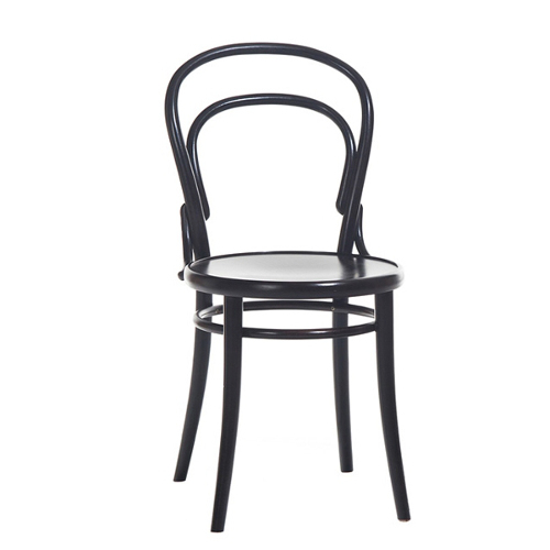 chaise bistrot noir thonet