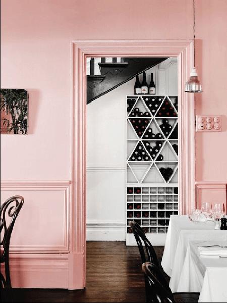 couleur peinture rose pastel