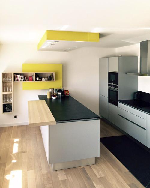 faux-plafond cuisine vert luxembourg
