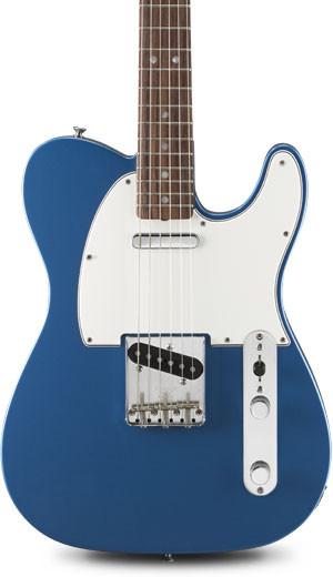 guitare bleue fender