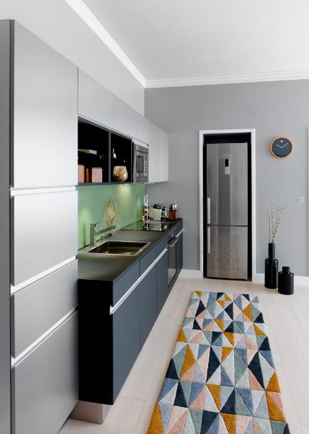 tapis geometrique cuisine arpege