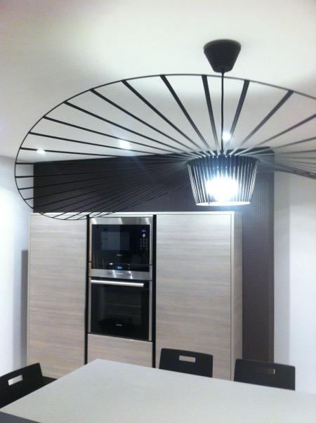 cuisine luminaire design vertigo