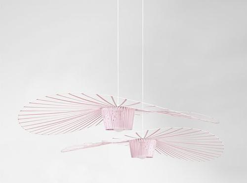 luminaires vertigo roses