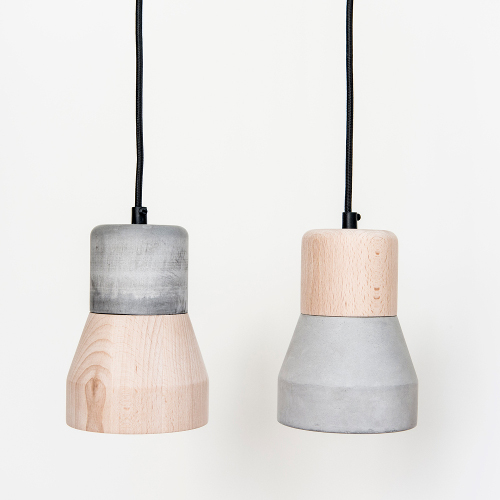 luminaires bois beton specimen editions