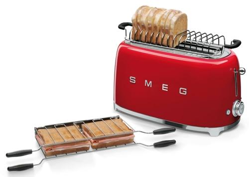 grille-pain-smeg-petit-electromenager-rouge