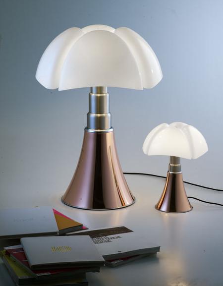 pipistrello cuivre lampes design italien