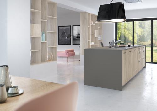 cuisine-bois-clair-melamine-structure